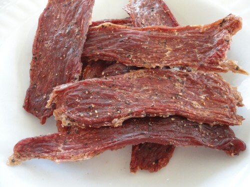 Nutritional value in Sun Dried Goat Meat |